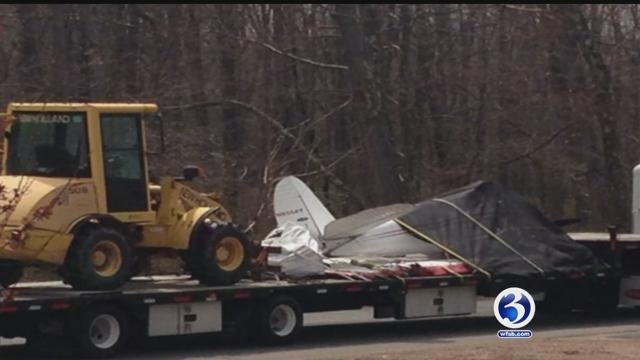 Police have identified the victims of the deadly plane crash in East Windsor on Tuesday. (WFSB)