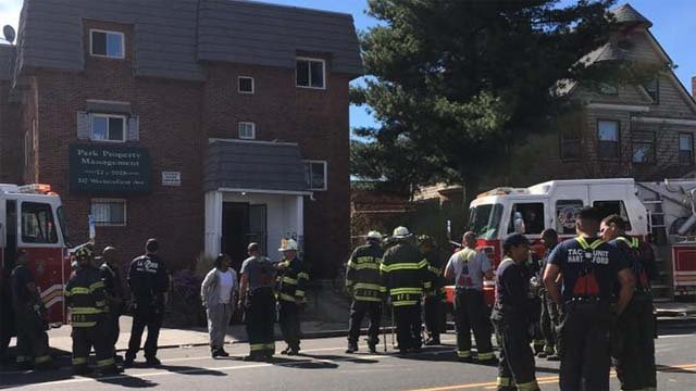 Several people were taken to the hospital with smoke inhalation (WFSB)