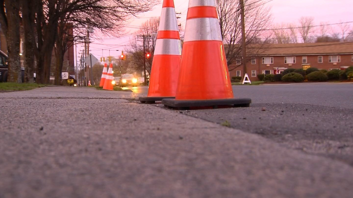 A section of Lincoln Avenue ion Bristol will be closed for the funeral services. (WFSB)