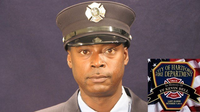 Kevin Bell was killed battling a fire in Oct. 2014. (Hartford Fire Dept. photos)