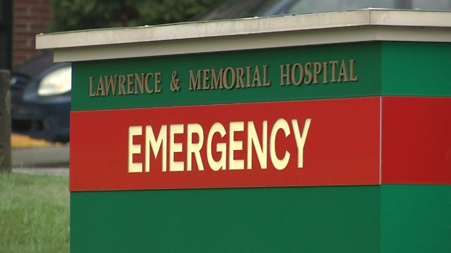 Lawrence and Memorial Hospital. (WFSB photo)