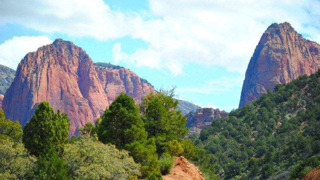 Kolob Canyon in Zion