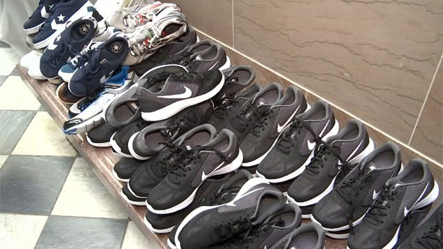 A many of those in need in Hartford will be getting a brand new pair of shoes. (WFSB)