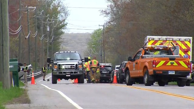 One person died after a motorcycle crash on Route 31 in Coventry. (WFSB)