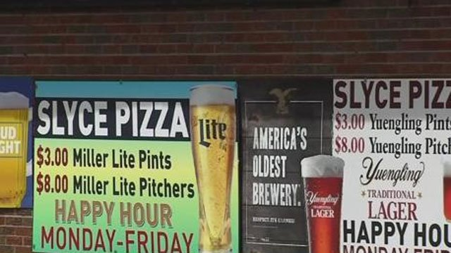 Sylce Pizza lost its liquor license. (WFSB)