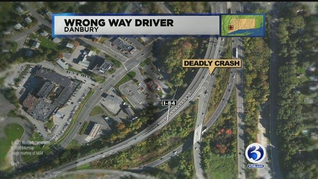 A wrong way driver led to a deadly crash in Danbury. (WFSB)