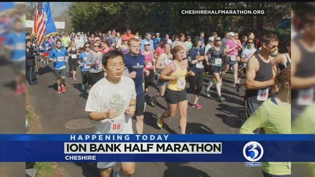 Cheshire will have road races to benefit people with developmental disabilities Sunday. (WFSB)