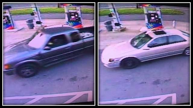 Police say the suspects were driving these vehicles (CT State Police)