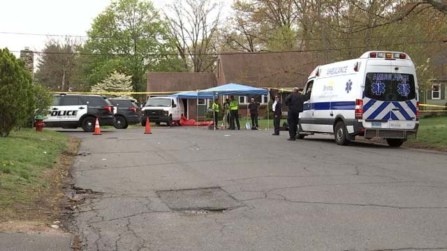 A baby has died after being hit by a car on Sunday. (WFSB)