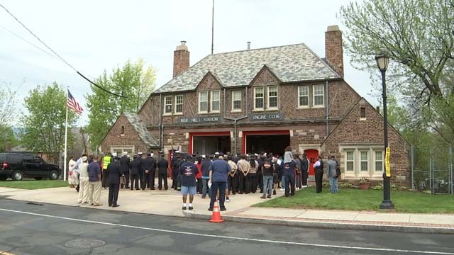 Engine Company 16 has been rededicated in honor of Kevin Bell (WFSB)