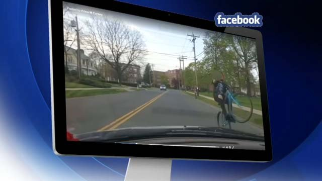 Teens are riding their bikes recklessly in the streets of West Haven (submitted)