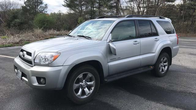 Aaron Hernandez's 2006 Toyota 4Runner limited was for sale on eBay, but was pulled from the site on Tuesday night. (eBay listing)