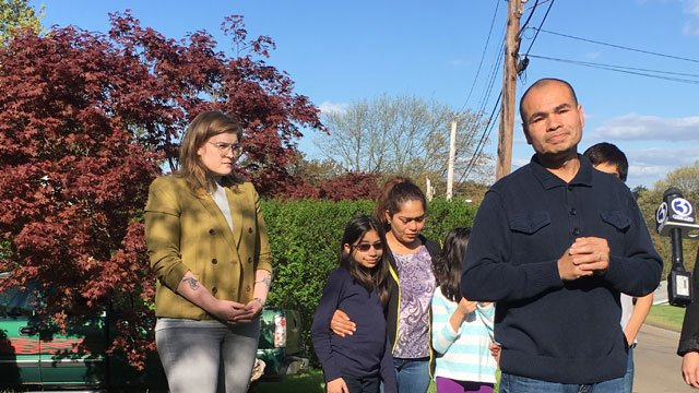 Luis Barrios, who was set to be deported early Thursday morning, has been granted a 30-day stay. (WFSB)