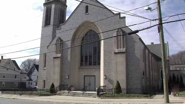 By June 29, the Archdiocese will reduce the number of churches from 212 to 127. (WFSB)