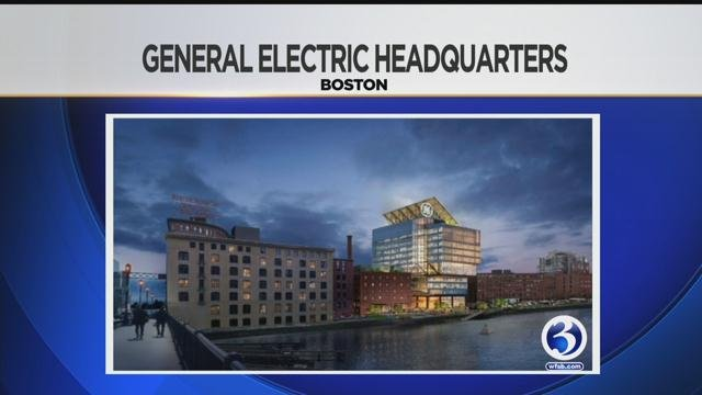 General Electric broke ground at new Boston headquarters on Monday morning. (WFSB file photo)