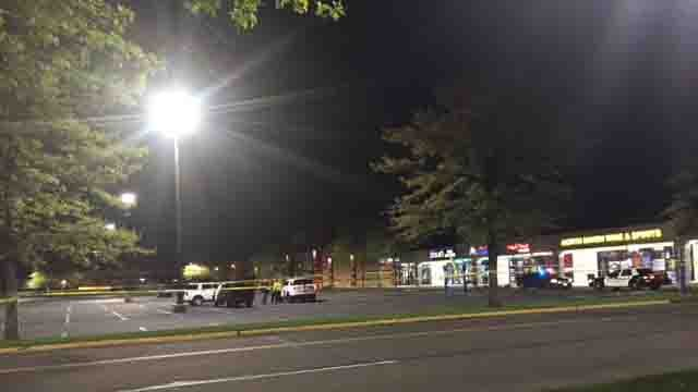 Police said a man was found dead inside a car in North Haven on Tuesday (WFSB)