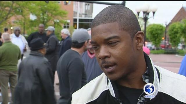 New Britain firefighter, Daylon Hudson, claims that management is guilty of racial bias (WFSB)