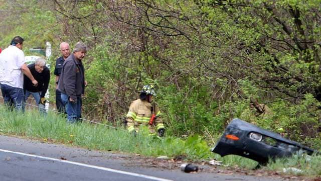 Woodbury Ct Car Crash