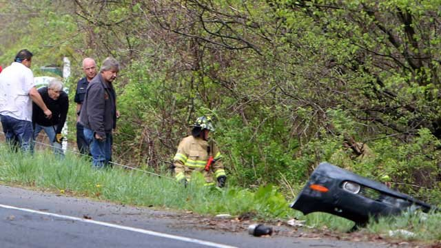Kathy Berman was killed in a crash on Sherman Hill Road in Woodbury on Tuesday. (Republican-American photo)