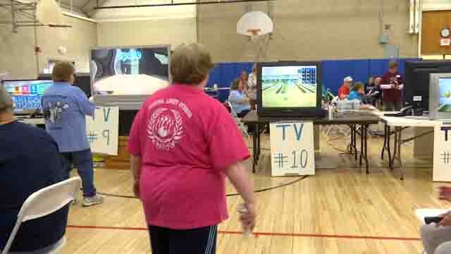 Nearly 100 senior citizens geared up for the annual wii bowling championship in Bristol (WFSB)