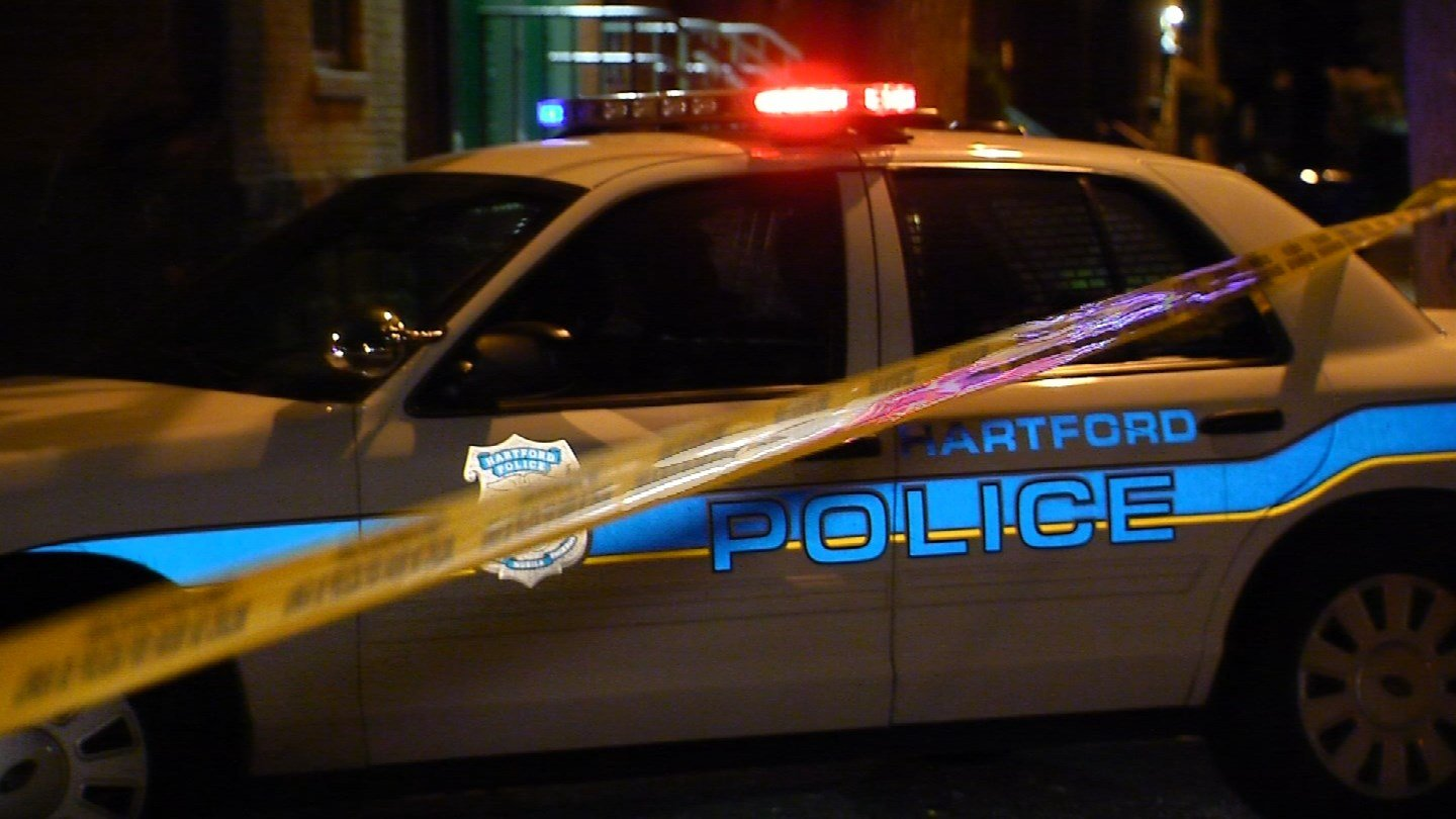 A man was shot in the ankle and found on Center Street in Hartford on Thursday night. (WFSB)