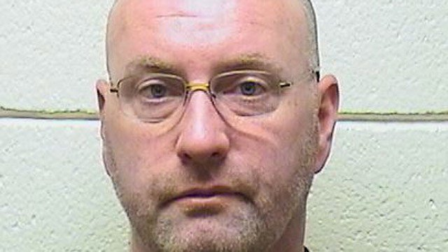 Shawn Burkett is accused of firing his shotgun at a chipmunk. (South Windsor police)