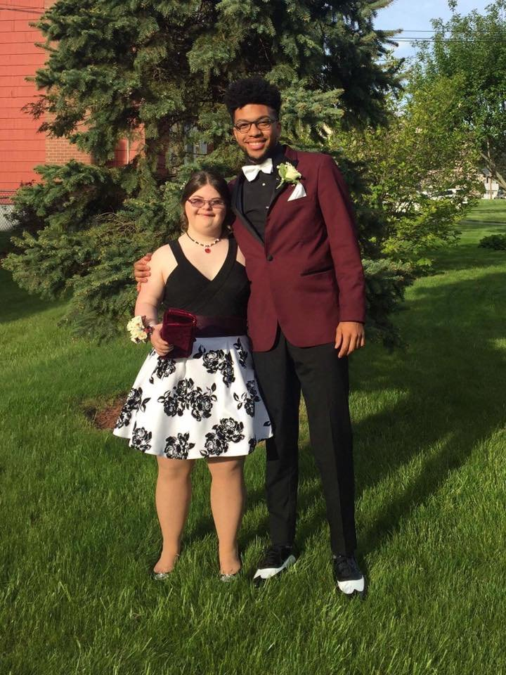Donovan and Melissa head to prom in New Britian.  The pair was the subject of a viral promposal earlier this year.  (Consolidated School District of New Britain)