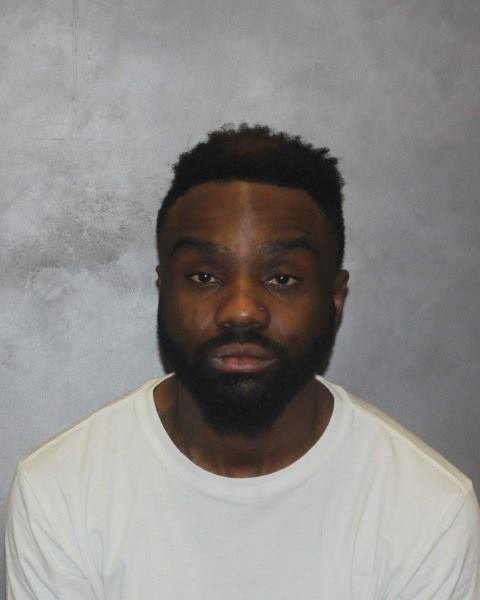 Lamar Maysonet was arrested by West Haven police after he rammed a cruiser and lead police on a chase.  (West Have Police Dept.)