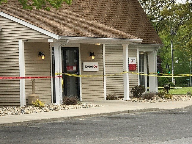 A white powder was found at a Coventry bank over the weekend (WFSB)