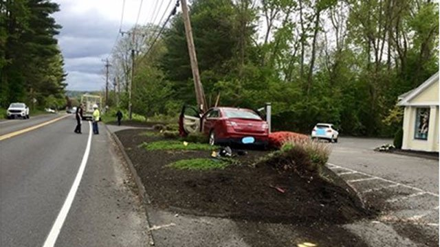 Crash closes Route 4 in Farmington for several hours. (Farmington Police Department)