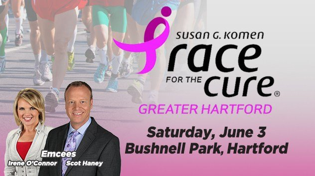 WFSB Channel 3 is proud to continue its partnership with Susan G. Komen New England and the Race for the Cure Greater Hartford.