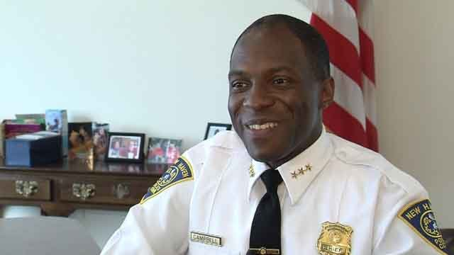 New Haven Police Chief Anthony Campbell (WFSB)