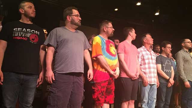 A man got a life-changing surprise from a fellow chorus member (WFSB)