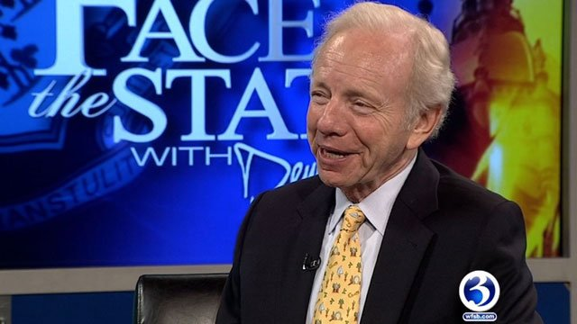 Joe Lieberman will interview for the top position in FBI. (WFSB file photo)