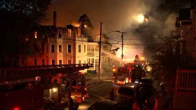 Multiple homes were impacted by a fire in Waterbury (WFSB)