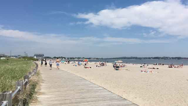 Silver Sands State Park in Milford. (WFSB file)