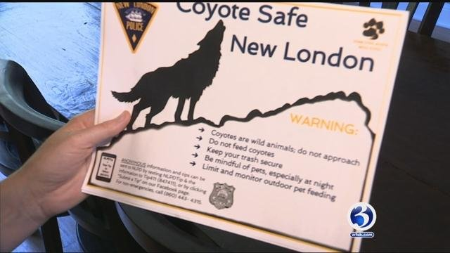 Flyers were headed out to New London residents in the south end on Friday. (WFSB)