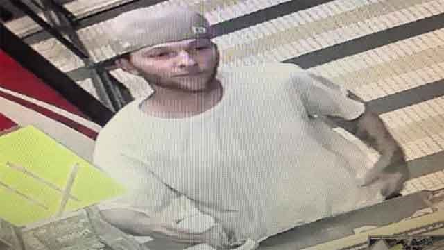 Police say this man stole a donation jar from a Waterford gas station (Waterford police)