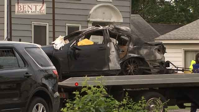 Three people were killed in a crash in Manchester over the weekend (WFSB)