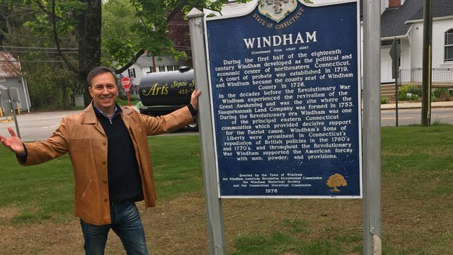 Anchor Dennis House visits Windham for Twenty Towns in 20 Days. (WFSB)