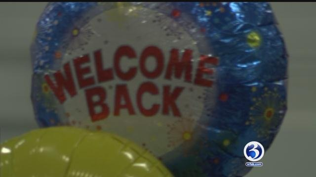 Dozens of CT heroes return home to East Granby