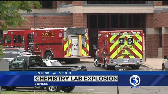 Students dismissed after 'small explosion' at Somers High School