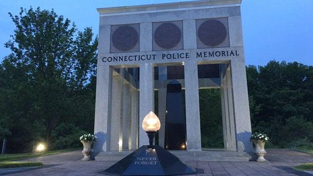 The Connecticut Law Enforcement Memorial. (WFSB)