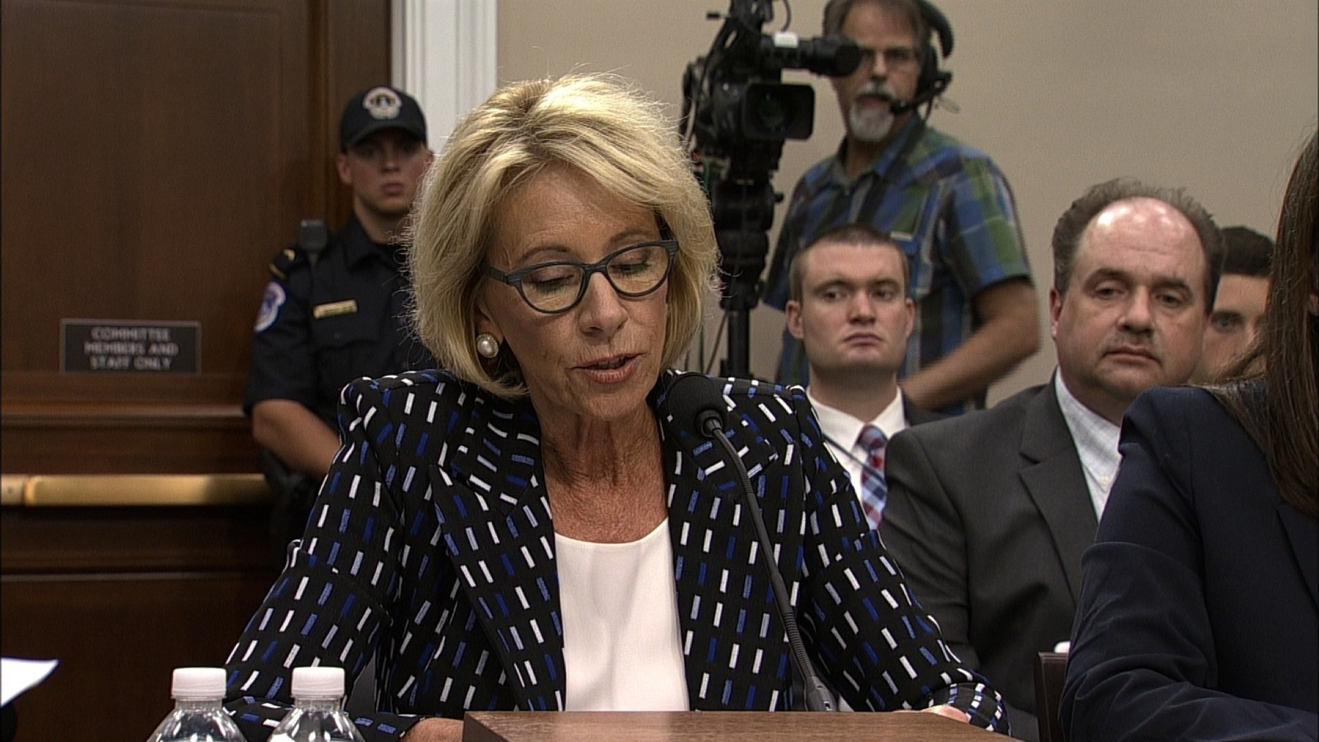 Connecticut Attorney General George Jepsen is joining a lawsuit against Education Secretary Betsy DeVos. (CNN)