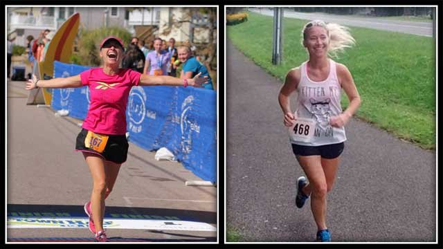 Julie Aresco is on her way to running a race in every Connecticut town, in just four years. (submitted)