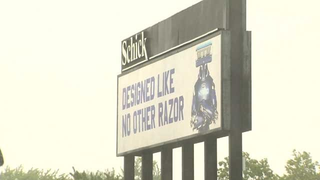 A worker at the Schick Razor factory was injured on Thursday (WFSB)