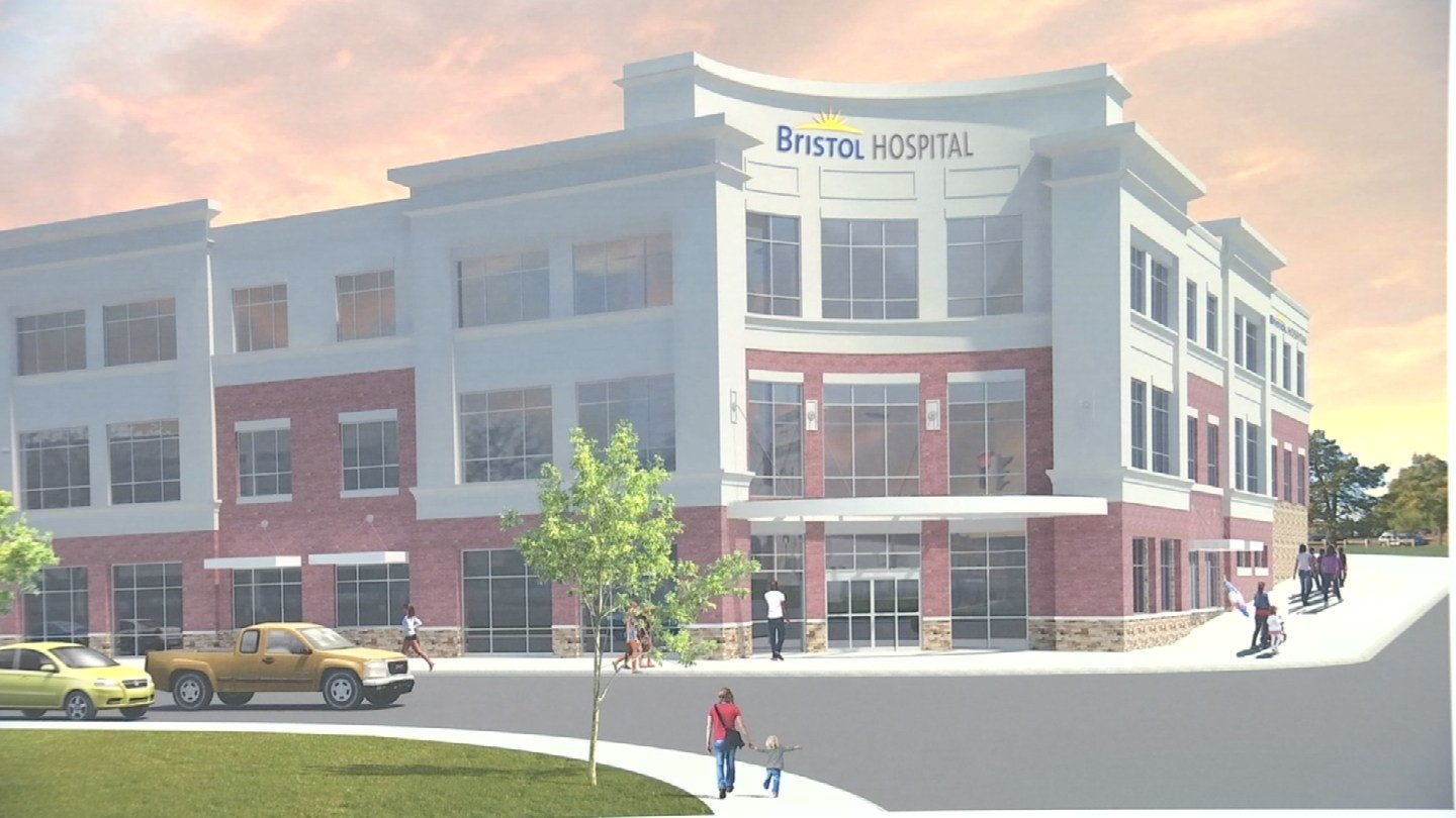 Bristol Hospital is set to build a center downtown in the city. (WFSB)