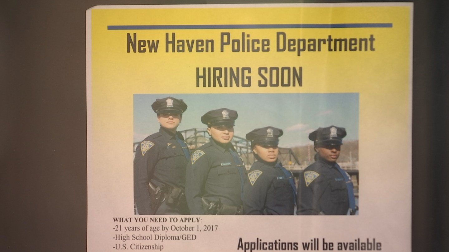 New Haven police is looking to hire new officers (WFSB)