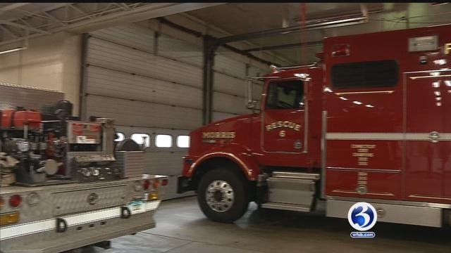 There is no EMS service based in the town of Morris. (WFSB)