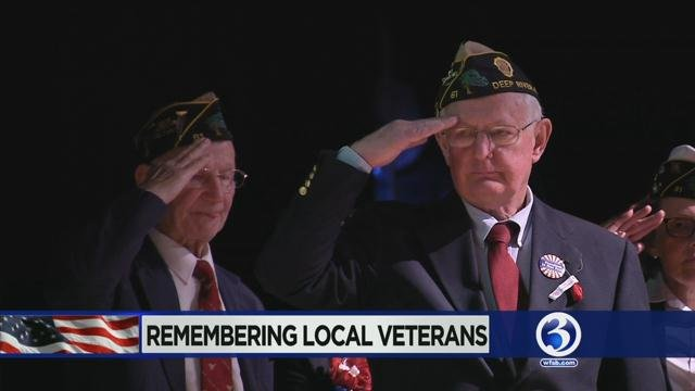 Ceremony honors WWII veterans in Deep River